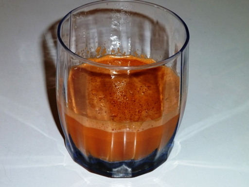 сок от 300 гр. моркови