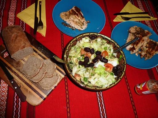 вечеря за отслабване