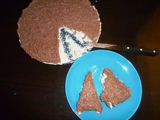 торта с овесени ядки и извара