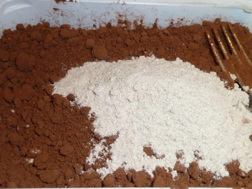 какао брашно извара
