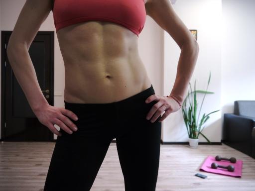 отслабване с упражнения