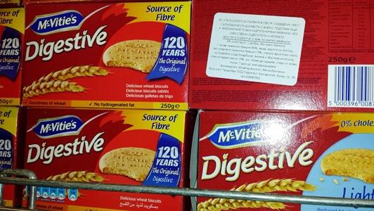 бисквити digestive