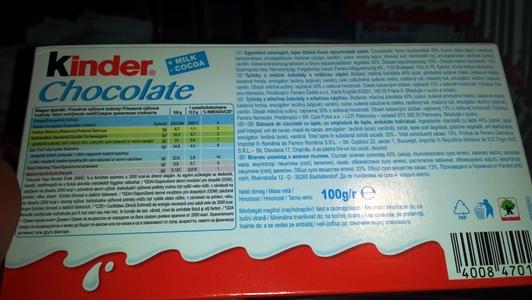 kinder-chocolate