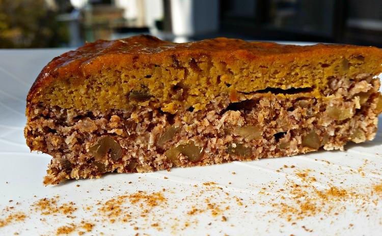 Кокосова торта с крем от тиква, без брашно, глутен и рафинирана захар
