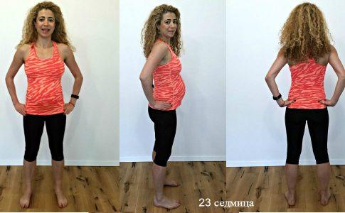бременност 23 седмица