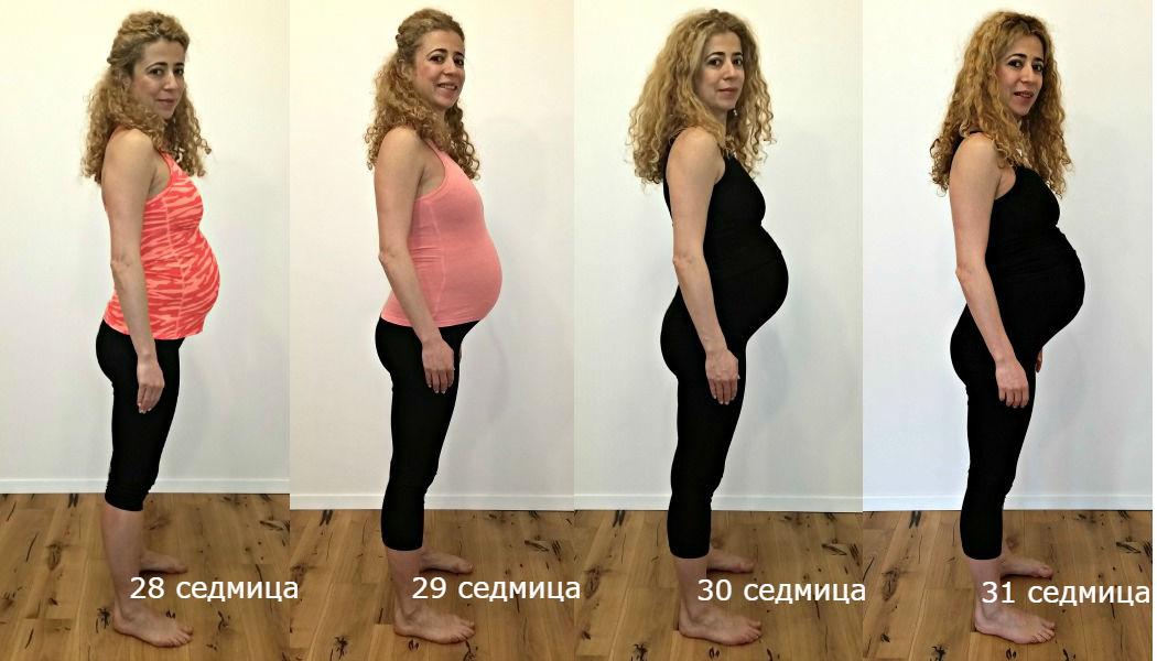 Бременност седмици 28-31