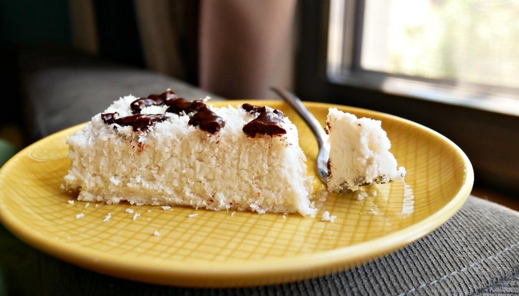 торта рафаело без глутен