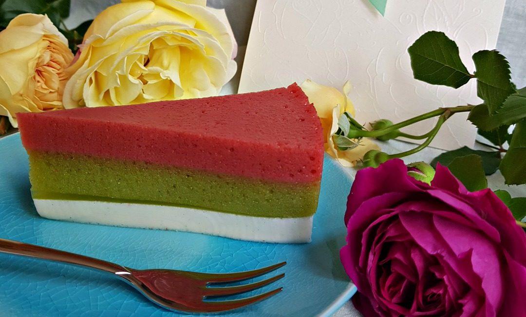 Торта трикольор – без печене, със спанак и анти ЕГН ефект :)