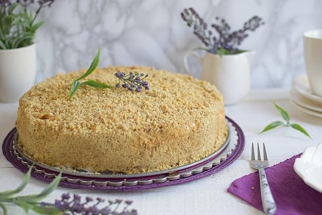 Френска Румена торта