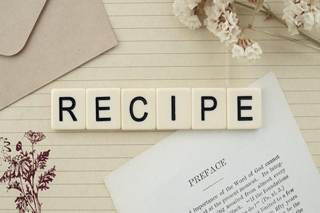 Списък рецепти от всички менюта